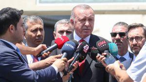 Cumhurbaşkanı Erdoğan'dan 'yeni parti' iddialarına cevap