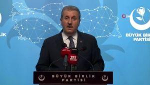 BBP Genel Başkanı Destici: 'Memleket masası TBMM'dir'