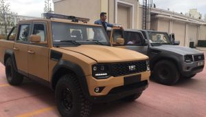 BMC'nin zırhlı pikap aracı göreve hazır