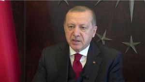 Cumhurbaşkanı Erdoğan'dan AB Türkiye Delegasyonu'na mektup