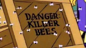 Simpsonlar ABD'deki 'Katil arıları' da bildi iddiası