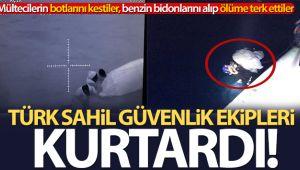 Yunan Sahil Güvenliği'nden bir barbarlık daha!