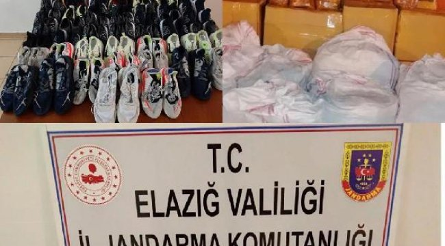 Elazığ'da kaçakçılık operasyonu: 3 gözaltı