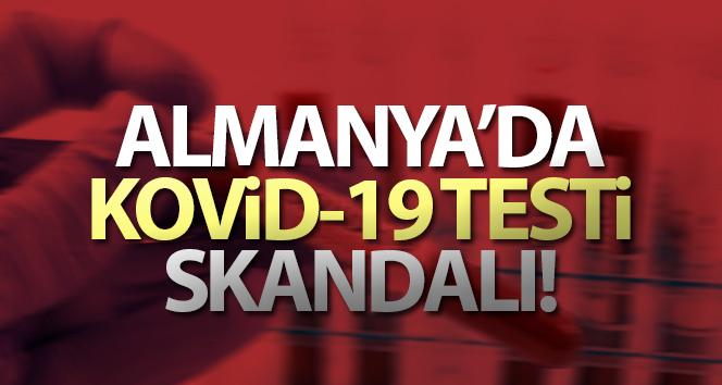 Almanya'da Kovid-19 testi skandalı