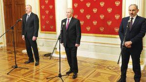 Aliyev ve Paşinyan'a Ruslar test yapmış
