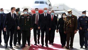 Bakan Akar ve komutanlar Irak'ta