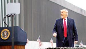 Trump: Duvarı yıktırmam
