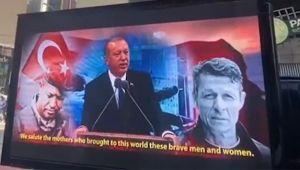 Times Meydanı'ndaki skandala tokat gibi cevap!