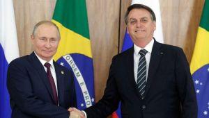 Bolsonaro, Putin ile