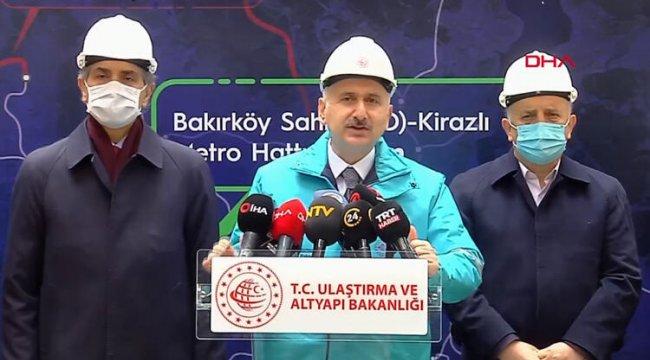 Son dakika... İstanbullulara metro müjdesi