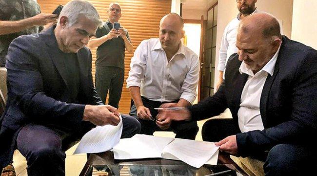 İsrail'de ilk kez Arapların partisi hükümete katılıyor