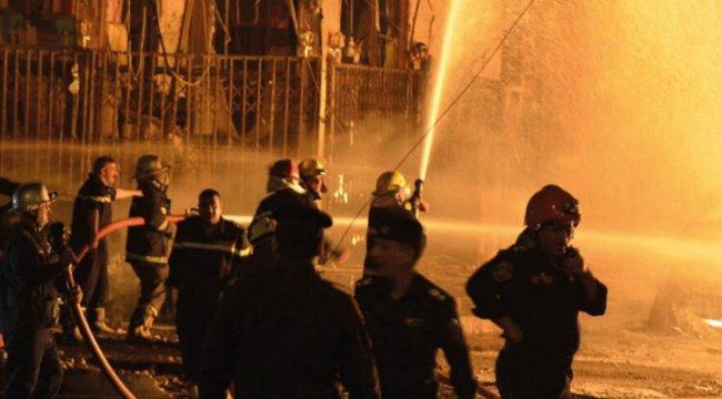 Son dakika haberi... Irak'ın başkenti Bağdat'ta patlama!