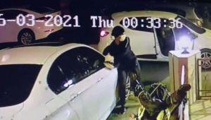 23 lüks otomobilin ayna ve plakasını çalan hırsız yakalandı