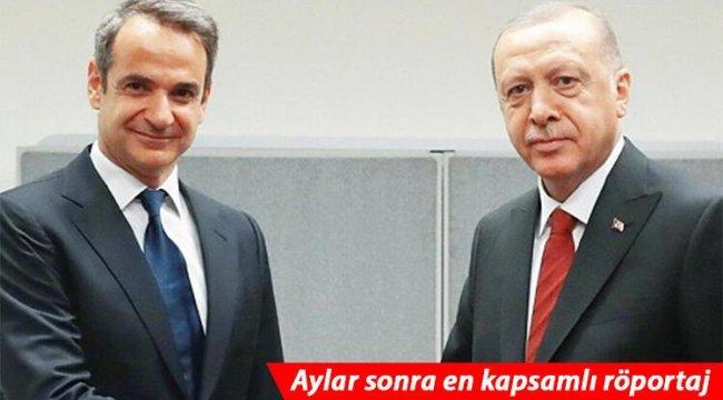 Yunanistan Başbakanı Miçotakis'ten flaş Türkiye açıklaması!