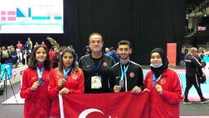 Milli tekvandocu Görkem Polat Avrupa şampiyonu