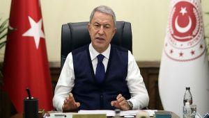 Bakan Hulusi Akar, Yunanistan'ın yeni planları hakkında çok sert konuştu: Bunlar boş hayaller