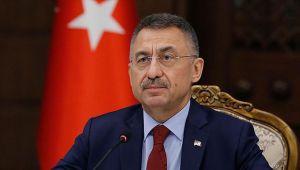 Eski KKTC Cumhurbaşkanı Akıncı'nın Cumhurbaşkanı Erdoğan hakkındaki sözlerine Fuat Oktay'dan tepki