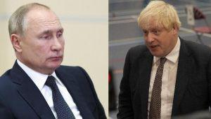 Rusya Devlet Başkanı Putin ile İngiltere Başbakanı Johnson telefonda görüştü